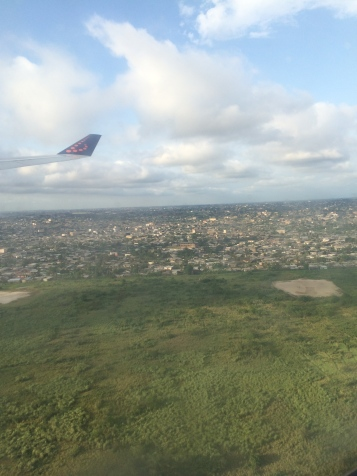 My first view of Cameroon