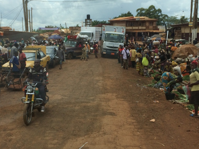 Traffic in Cameroon June 2016